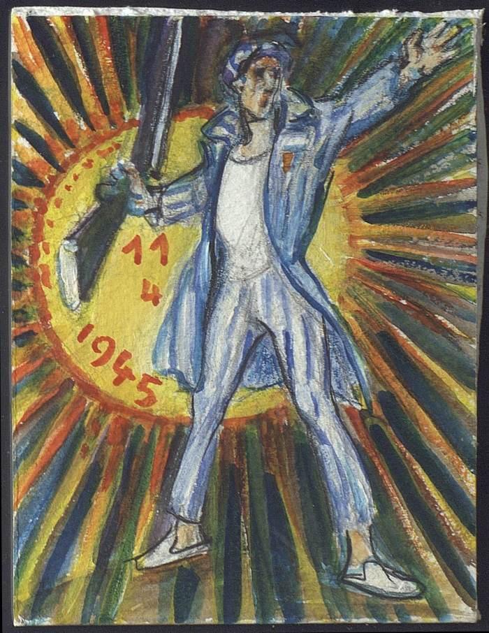 B. Taslitzky - carte adhérent 1995