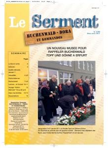 SERMENT N°336 - mars avril 2011
