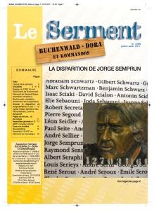 SERMENT N°338 - juillet aout 2011