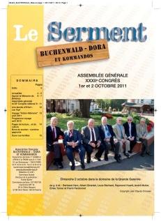 SERMENT N°340 - novembre decembre 2011