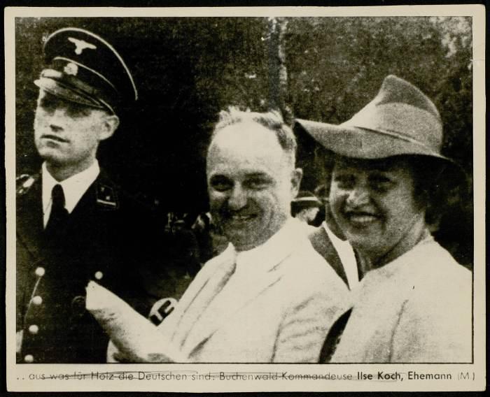 Photographie d'Ilse KOCH et du commandant KOCH, son mari©AFBDK