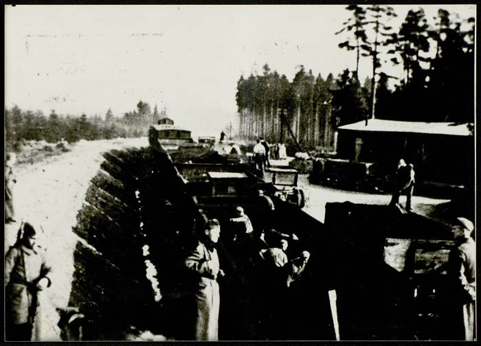 Photographie de la gare de Buchenwald ©AFBDK