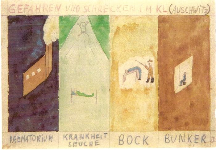 16. Les quatre terreurs - (copyright T. Geve et Yad Vashem)