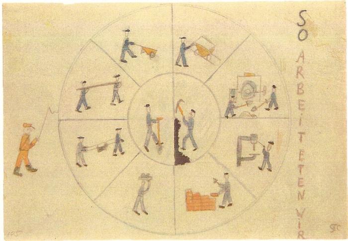 19. Le travail - (copyright T. Geve et Yad Vashem)