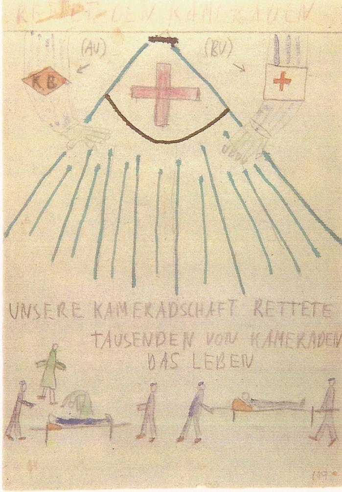 22. La solidarité - (copyright T. Geve et Yad Vashem)