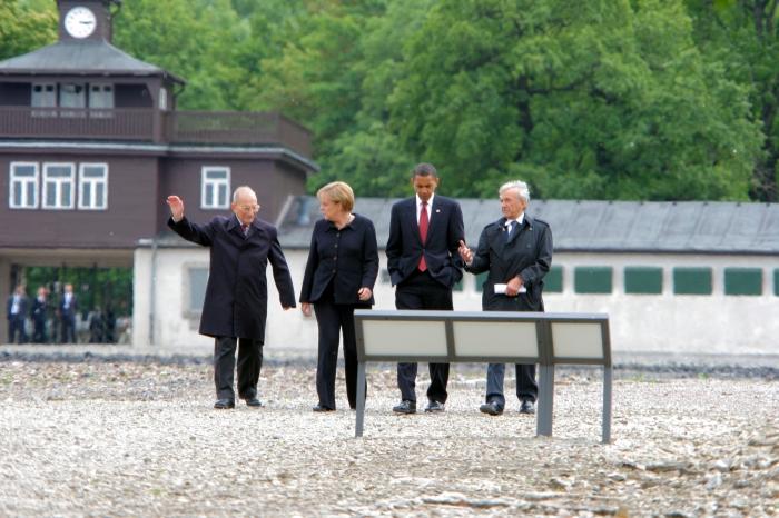 20090605 / Weimar / Gedenkstätte Buchenwald Besuch von US Präsident Barack Obama (Foto: Peter Hansen / digital)