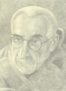 Auguste Favier : Masperaud, professeur d'Egyptologie au Collège de France, mort avant que son portrait fut terminé.