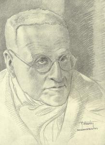Auguste Favier : J. Cain, directeur de la Bibliothèque Nationale.