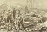 """Auguste Favier : Kommando """"Terrasse"""". Sous la pluie et dans la boue collante, surveillé par les SS et les chiens."""